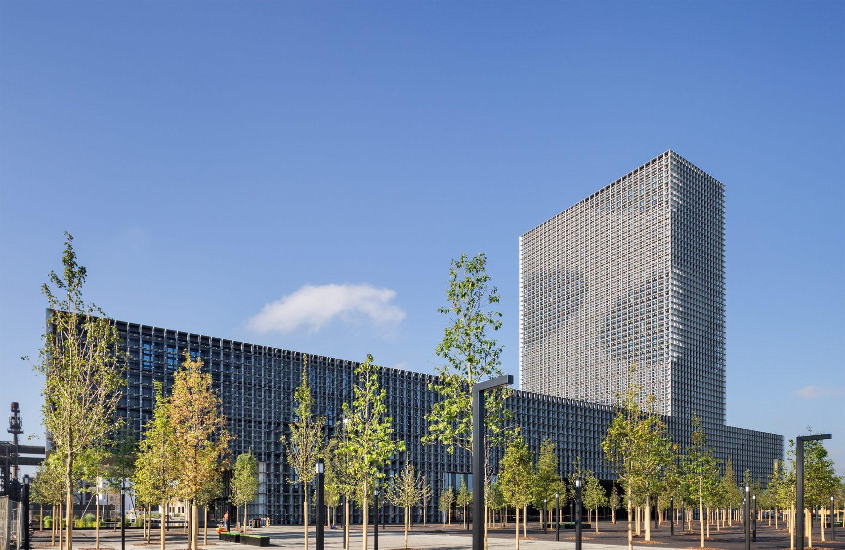 Universit tsgeb ude la maison du savoir baumschlager - Architekten luxemburg ...